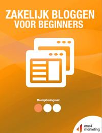 Zakelijk bloggen voor beginners