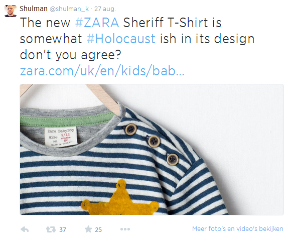 Zara Twitter