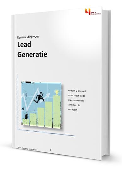 Gratis e-Book leadgeneratie