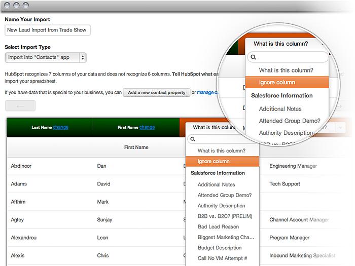 Database en importeren