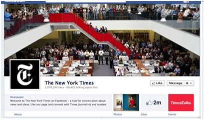 Nytimes timeline