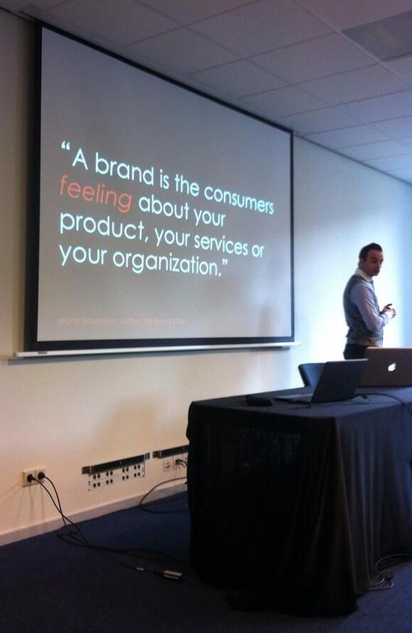 Een merk is het gevoel dat de consument er bij heeft - Thomas Marzano