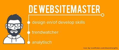Websitemaster rol marketingteam
