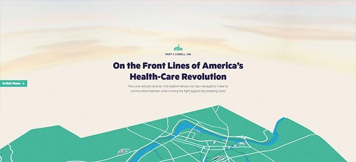 voorbeeld 5 The Atlantic Population healthier