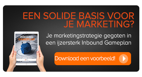 CTA blueprint inbound marketingstrategie