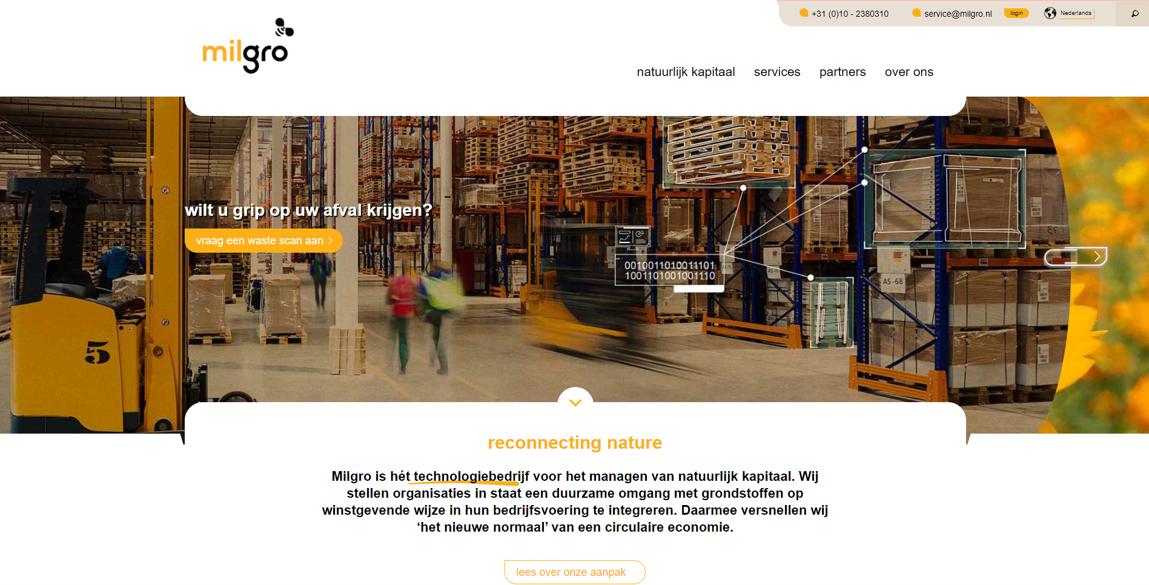 Milgro Website