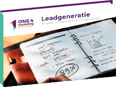 E-book leadgeneratie via inboundmarketing.